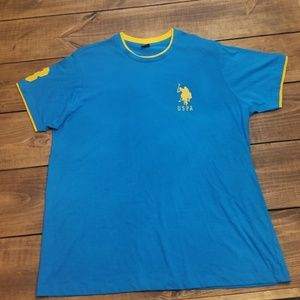 Nwot Mens XL Blue Polo shirt